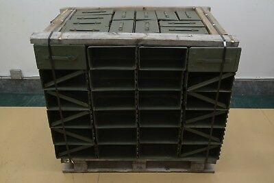 Lot of 120 Military Issued M2A1 Ammo Can 5.56 mm .50 Cal Ammunition Can