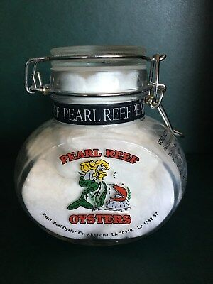 Pearl Reef Glass Oyster Jar (not Oyster Can)