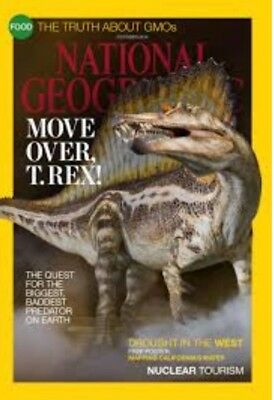 National Geographic Magazine 'Move Over T.rex' October 2015!✨