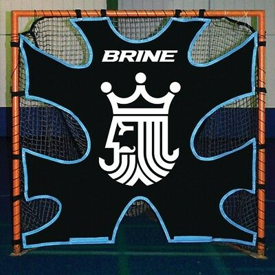 Brine Lacrosse Shot Trainer-Fits on 1.8m x 1.8m Goals (Black). Delivery is Free