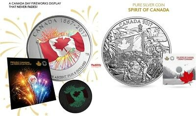 2017 Silver Proudly Canadian & The Spirit Of Canada Coin Set - CLEAREANCE