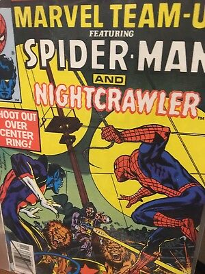 Marvel Team-Up 89 from 79-Spidey and Nightcrawler
