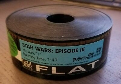 "Star Wars Episode III: Revenge of the Sith Movie 35mm Trailer Version ""1"""