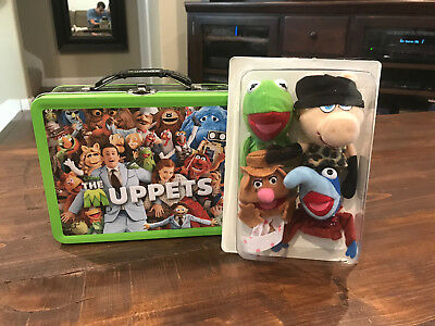 Disney - Muppets - Metal Collectible Lunch Box w/ Finger Puppets