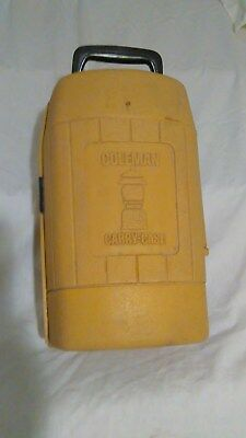 Rare Vintage Coleman Lantern Gold Carry Case for Single Mantle Lanterns  2 - 78