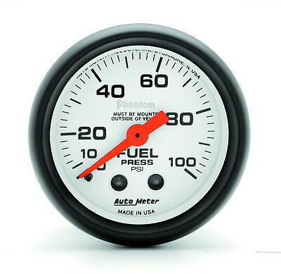 AutoMeter 5712 Phantom (R) Gauge Fuel Pressure