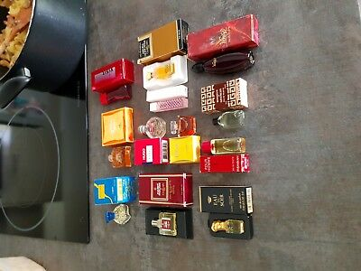 Lot de 12 Miniatures Parfum