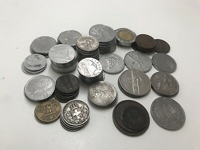 85 Italy Coin Lot 1861-1991, Huge Variety