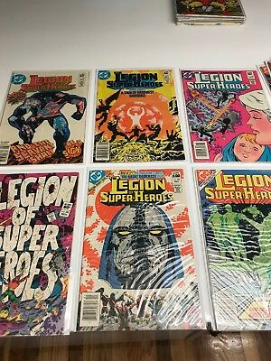 Legion of Super-Heroes Great Darkness Saga Complete Lot Plus More 12 Issues