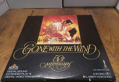 Gone with the Wind.   laserdisc