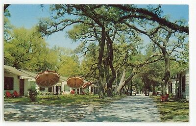 Colonial Cottages GULFPORT, BILOXI MS Vintage Mississippi Postcard
