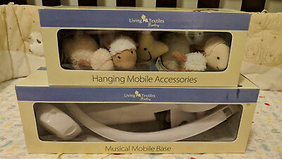 Living Textiles Counting Sheep Musical Cot Mobile - Used - Carlingford Pickup