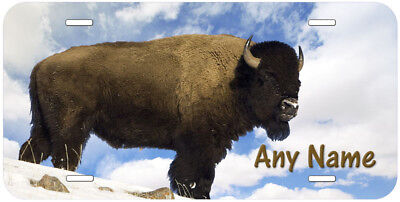 Buffalo Bull Personalized Aluminum Any Name Novelty Car License Plate