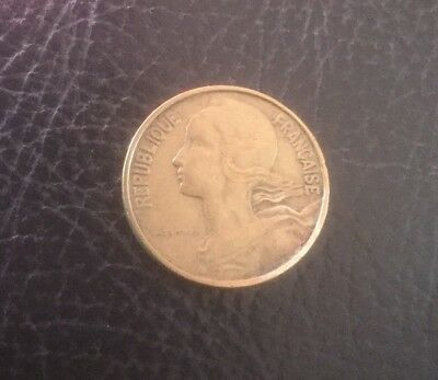 1963 Republic Of France 10 Centimes Circulated Collect School Project Free Post