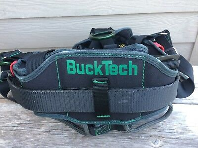 Buckingham L/26 Arborist Climbing Saddle 68K965K6