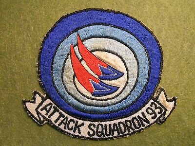Vietnam Period Navy Attack Squadron 93 Patch, used