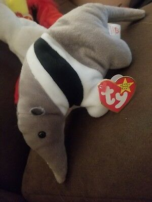 Ants the anteater Ty Beanie Baby 1997 Or 1998 Multiple Errors