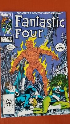 Fantastic Four #289 (Apr 1986, Marvel) The Human Torch Cover