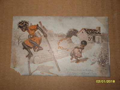 Antique Korn Kinks Advertising Postcard
