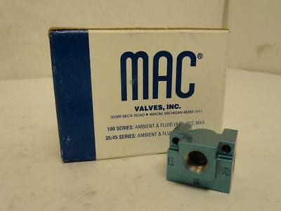 175556 New In Box, MAC 35A-AAA Pneumatic Valve Body, 3/8 FNPT Port Size