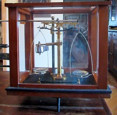 Antique Eimer & Amend N.Y. Jeweler Apothecary Balance Scale * Ford Instrument