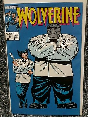 Wolverine (1st Series) #8 1989 NM