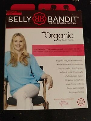 Belly Bandit Size M Medium Pink Organic Cotton Belly Wrap Band Support