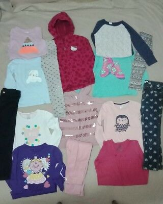 Girls clothes size 7 Bulk pack with 15 items inc Hello Kitty