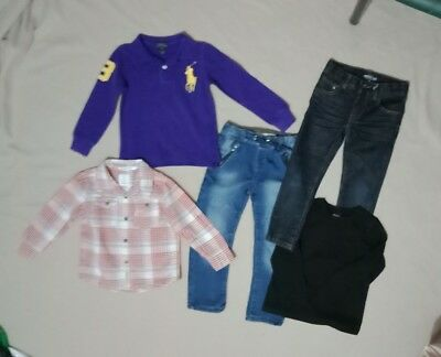 Boys Clothes size 4 bulk pack inc Zara Country Road Indie and Ralph Lauren