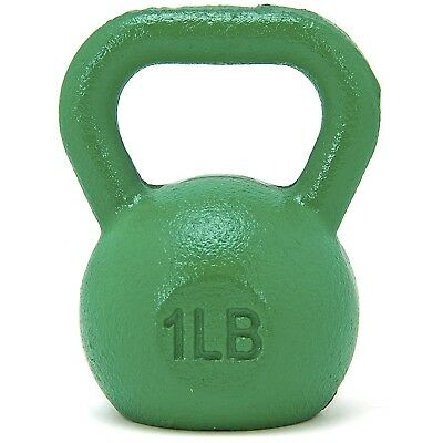 (Green) - 0.5kg Mini Kettlebell / Paper Weight, Small Gift Idea, Stocking