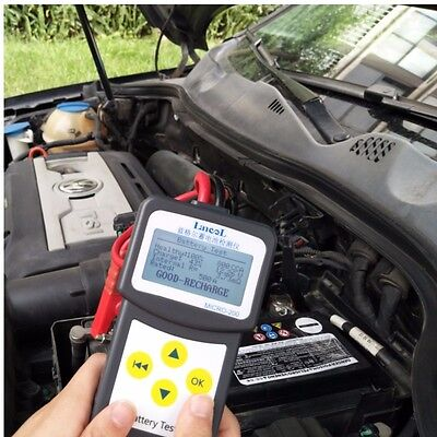 HOT 12V Digital Automotive Car Battery Tester Analyzer with printing function