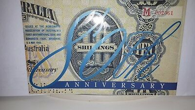 (1993) NPA - 20 Dollar - 80th Anniversary Issue with Red Overprint