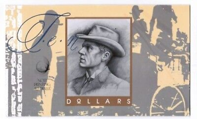 1993 $10 1st Day of Issue Embossed Deluxe Folder Set. AA93 / MMR
