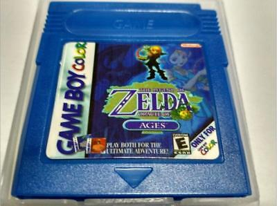 Brand New Legend of Zelda: Oracle of Ages Game boy Color gbc gbc/gba sp !!