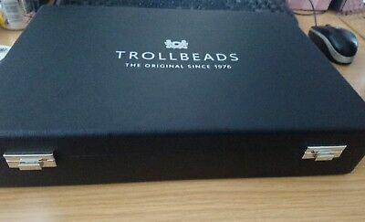 Trollbeads Limited Edition Ultimate Collectors Case Jewellery Box Very Rare