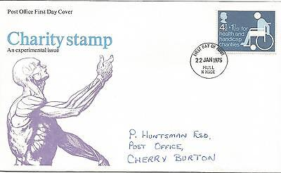 Gb Fdc 1975 Health & Handicap Charities