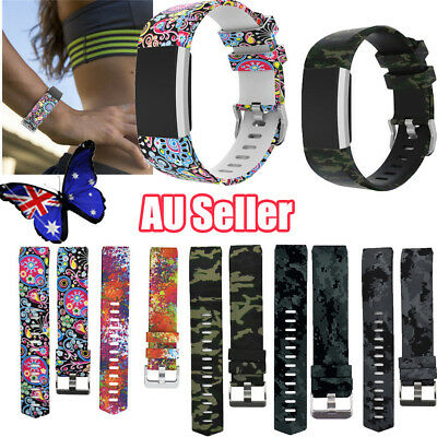 For Fitbit Charge 2 /HR Replacement Smart Watch Strap Bracelet Wrist Band BO