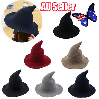 Modern Witch Hat Made From High Quality Sheep Wool Halloween Witch Hat BO