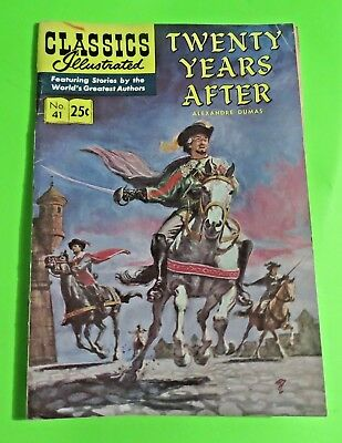 Classics Illustrated #41 Twenty Years After Comics Silver Age (1969) C1982