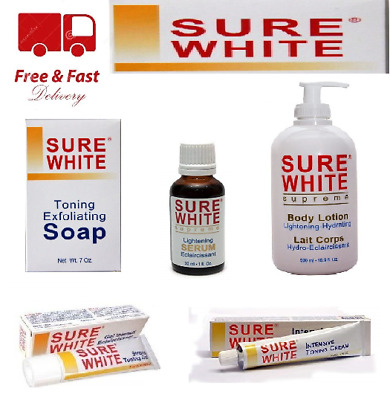Sure White Skin Care Products | Full Range | Uk Seller | Free Delivery