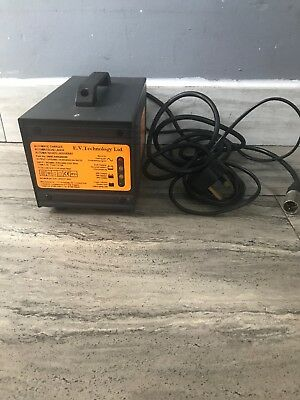 E.V.Technology Ltd Mobility Scooter Charger Fully Working 24v 5amp 3 Pin Plug