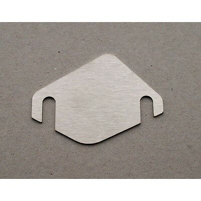 PLAQUE D'OBTURATION/SUPPRESSION VANNE EGR MOTEUR PEUGEOT/CITROEN HDI ep.5mm