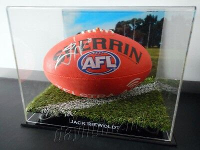 ✺Signed✺ JACK RIEWOLDT Football PROOF COA Richmond Tigers 2017 2018 Guernsey