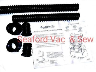Rug Doctor Hose Kit - Converts to Hoseless Hood Design - Fits Mighty Pro X3 (#18