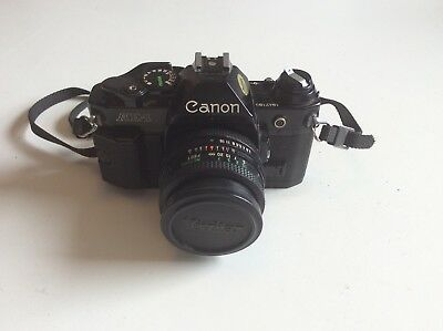 Vintage Canon AE-1 35mm Camera
