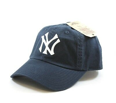 American Needle MLB New York Yankees Navy Team BallPark Adjustable Cap