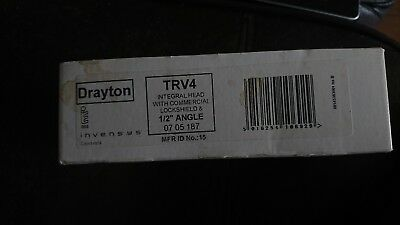 Drayton trv4 with Thermostatic head