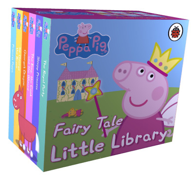 Peppa Pig: My Fairy Tale Little Library for Baby, Toddler,Kid &Child Board book