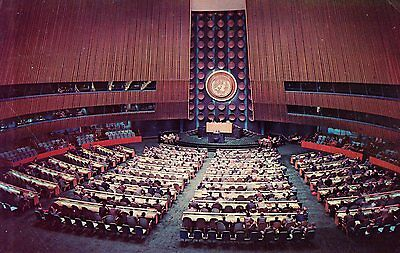 USA - New York  -  General Assembly Hall im United Nations Headquarters  -  1969