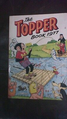 The Topper Book Annual 1977 Comic Hardback Rare Retro Collection Vintage MH
